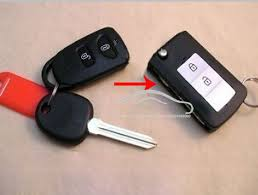 hyundai elantra alarm 2 buttons fob car key blanks for hyundai elantra modified