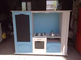 meuble de cuisine fait maison comment transformer un meuble tv en cuisinière pour enfants
