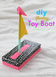 At Home Diys by Diy Toy Boat Quick Fun Crafts Pinkwhen