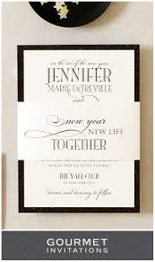 new years wedding invitations new years formal wedding invitations gourmet invitations