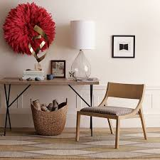 west elm entry table what s not to love about this metal truss work table 400 west