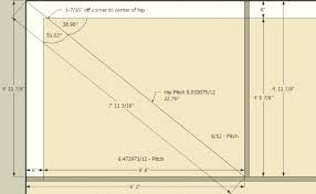 Irregular Hip Roof Framing Split Pitch Hip Roof Jlc Online Forums