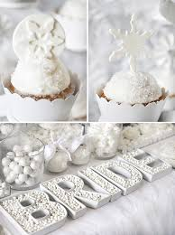 bridal showers trend alert all white bridal showers winter theme hostess