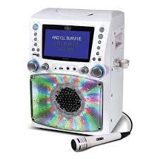 light up karaoke machine singing machine lights recording karaoke gift guide for 8 year