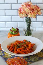 instant pot carrots with honey herb butter glaze zen spice