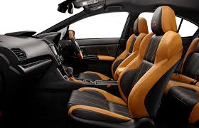 subaru wrx interior subaru wrx s4 sporvita brings more luxury to japan exclusive model