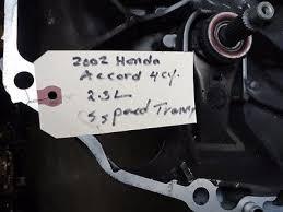 1998 2002 honda accord 2 3l manual transmission 92k miles code