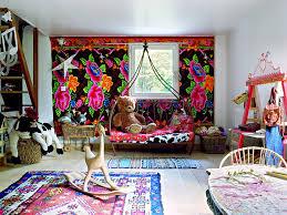 chambre indienne d馗oration idée déco chambre bébé ethnique escalier décoration bohème chic