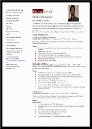 Resume Sample Electrician by How To Write Electrical Engineer Resume