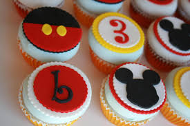 12 edible cupcake toppers mickey mouse inspired for birthdays