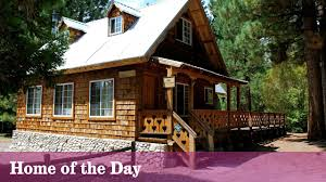 chalet style bliss in green valley lake la times