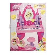 Disney Princess Vanity And Stool Toy Game 100 Brand New Disney Princess Keyboard Vanity With