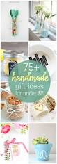 a wonderful collection of 75 handmade gift ideas that can be made
