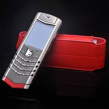 vertu luxury phone business style luxury genuine leather flip case for vertu
