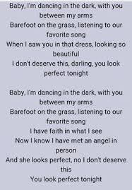 ed sheeran perfect text perfect ed sheeran word typography words song lyric lyrics music