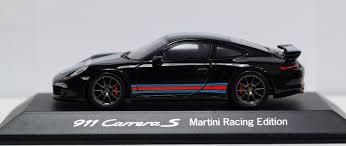 porsche 2014 price porsche 911 991 s martini racing edition 2014 black 1 43