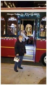 holiday lights trolley chicago chicago trolley holiday lights tour by carol moore around the