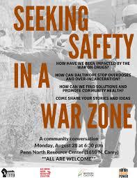 Seeking Zone Maryland Communities United