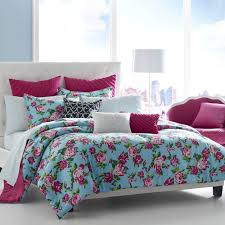 Beautiful Comforters Adorable Blue And Pink Comforter For Teenage Girls In A Beautiful