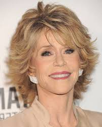 sunny medium length hairstyles for women over 50 with round face