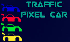pixel car traffic pixel car by lithuaniacompany