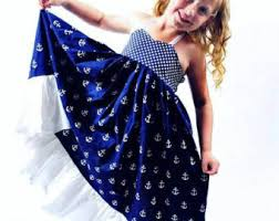Nautical Theme Dress - girls nautical dress etsy