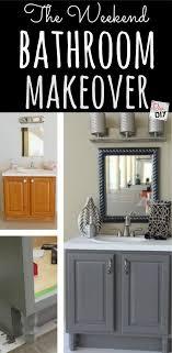 Best  Diy Bathroom Remodel Ideas On Pinterest Rust Update - Simple bathroom makeover