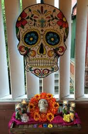 diy halloween decor the year of living fabulously halloween decor dia de los muertos style or u2026what i did outside