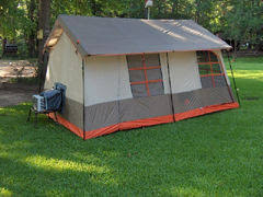 air conditioned tent eaglespeak after the hurricane