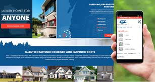 best home builder website design 3d construction web developer building contractors website