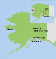 Denali National Park Map Alaska Birding Tour U0026 Wildlife Guided Tours Naturalist Journeys