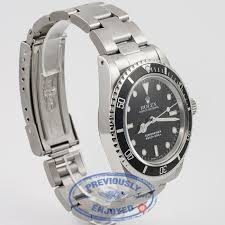 rolex oyster bracelet stainless steel images Rolex submariner 5513 vintage watch beverly hills watch company 4-mil