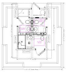 ada bathroom floor plan prairie kraft specialties log cabin manucturing bathrooms
