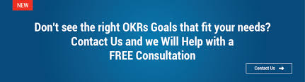 new okr goal examples for sales marketing product hr etc