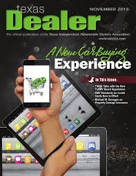 Independent Auto Dealer Floor Plan Texas Dealer November 2015 By Texas Independent Auto Dealers