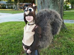 diy handmade squirrel costume by tina mix halloween costume
