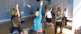 Chair Yoga Class Sequence Online Chair Yoga Teacher Training And Certification Program