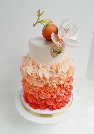 peach ombre wedding cake 6 peach ombre birthday cakes photo peach ombre cake peach ombre