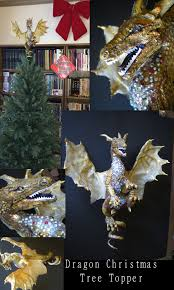 dragon christmas tree topper by shadowind on deviantart