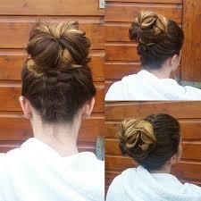 Hochsteckfrisurenen Instagram by Braided Updo Hair Geflochtene Hochsteckfrisur