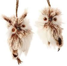 raz imports 6 flat backed gray owl ornament ornament