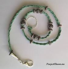 braided hemp necklace images Triple wrap braided hemp cord bracelet with european style beads jpg