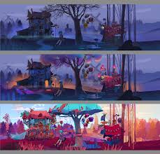 explore the artistic world with lona realm of colors cg daily news