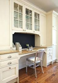 how to make a desk from kitchen cabinets built in office desk and cabinets office in kitchen built in kitchen