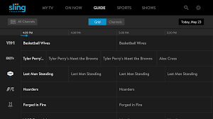 Sling Tv Faq How Do I Navigate The Guide On My Amazon Fire Tv