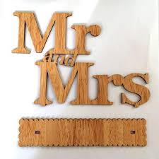 mr u0026 mrs wooden letters for wedding table decoration u2013 gaia spot
