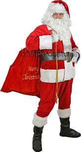 santa claus costume sparkle trim santa claus costume at boston costume