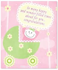 baby girl cards baby girl congratulation messages with adorable images