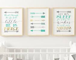 Nursery Decor Boy Nursery Decor Etsy
