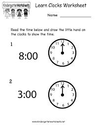 pictures on printable clock worksheets for kindergarten wedding